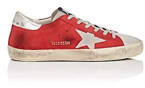 Golden Goose Women's Superstar Suede Sneakers - Red
