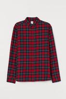H&M Regular Fit Flannel Shirt