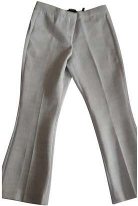 Theory Grey Trousers for Women