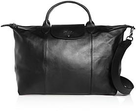 Longchamp Lonchamp Le Pliage Cuir Large Leather Shoulder Bag