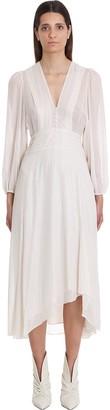 IRO Joucque Dress In Beige Viscose