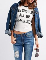 Charlotte Russe We Should All Be Feminists Graphic Tee