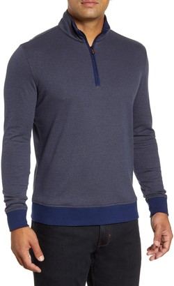 Robert Graham Hartford Half-Zip Cotton Sweater