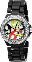 Disney Women's Mickey Mouse Dial Enamel Bracelet Watch MK2080