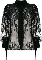 Elie Saab sheer embellished blouse