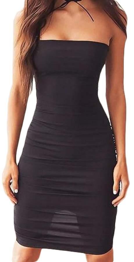 04f93450e55 Black Dress Strapless Tube - ShopStyle Canada