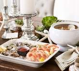 Pottery Barn Seashore Deep Dish Serving Platter