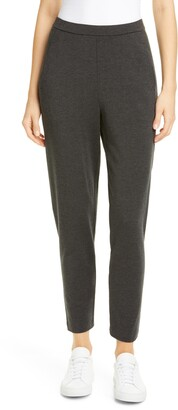Eileen Fisher Slouchy Slim Ankle Pants