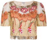Temperley London Farewell Cropped Top