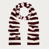 Bally Striped Knitted Scarf