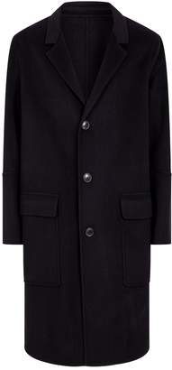 Ami Paris Oversized Longline Coat