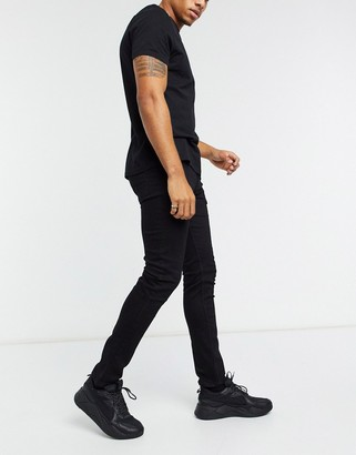 Asos Design DESIGN skinny jeans in black