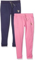 Mothercare Girl's - 2 Pack Sports Pants