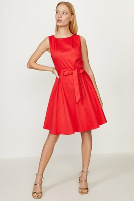 Coast Cotton Fit And Flare Dress