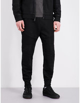 True Religion Moto Cotton-jersey Jogging Bottoms