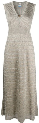 M Missoni Metallic-Knit Dress