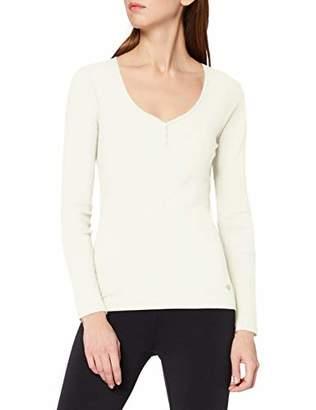 Marc O'Polo Body & Beach Women's Shirt Ls Long sleeve Top,(Manufacturer Size: 44)