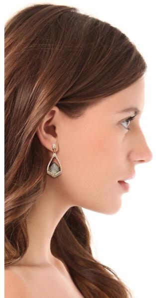 Alexis Bittar Suspended Labradorite Earrings