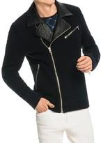 Scotch & Soda Wool Blend Biker Jacket