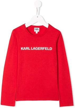 Karl Lagerfeld Paris Logo sweatshirt