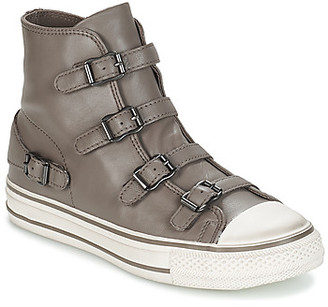 Ash VIRGIN women's Shoes (High-top Trainers) in Grey