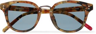 Oliver Spencer Conrad Tortoiseshell Acetate D-Frame Sunglasses
