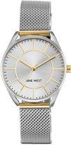 Nine West Layniee Silver-Tone Bracelet Watch