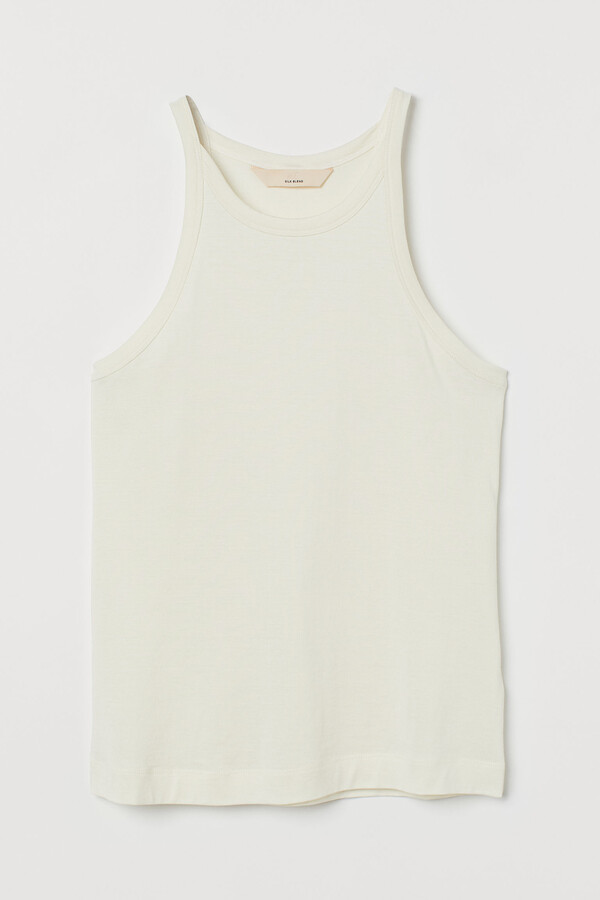 Thumbnail for your product : H&M Silk-blend vest top