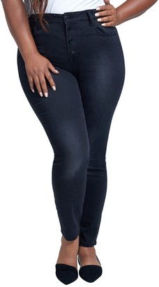 Seven7 High Rise Jeggings (Plus Size)