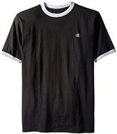 Champion Men's Big & Tall Short-Sleeve Ringer T-Shirt