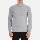 Lacoste Men's Basic Crew Knitted Jumper Grey