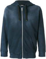 Diesel Theory zipped hoodie - men - Cotton/Polyester - XS