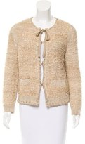 Chloé Long Sleeve Knit Cardigan