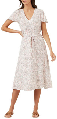 French Connection Ditsy Floral Midi Dress