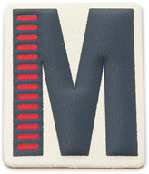 Fossil Letter M Sticker