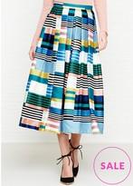 LK Bennett Tippi Stripe Full Skirt
