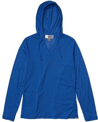 Exofficio BugsAway(r) Lumen Hoodie (Admiral Blue) Women's Sweatshirt