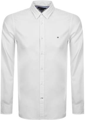 Tommy Hilfiger Long Sleeved Slim Shirt White