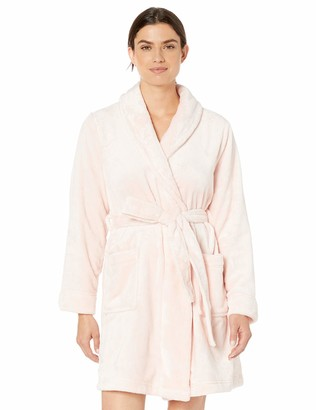 Amazon Essentials Mid-Length Plush Robe Nightgown