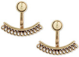 Lucky Brand Gold-Tone Openwork Earring Jackets