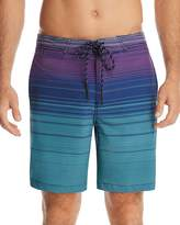 SURFSIDESUPPLY Ombré Stripe Board Shorts