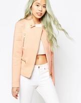 Vero Moda Casting Short Zip Though Coat