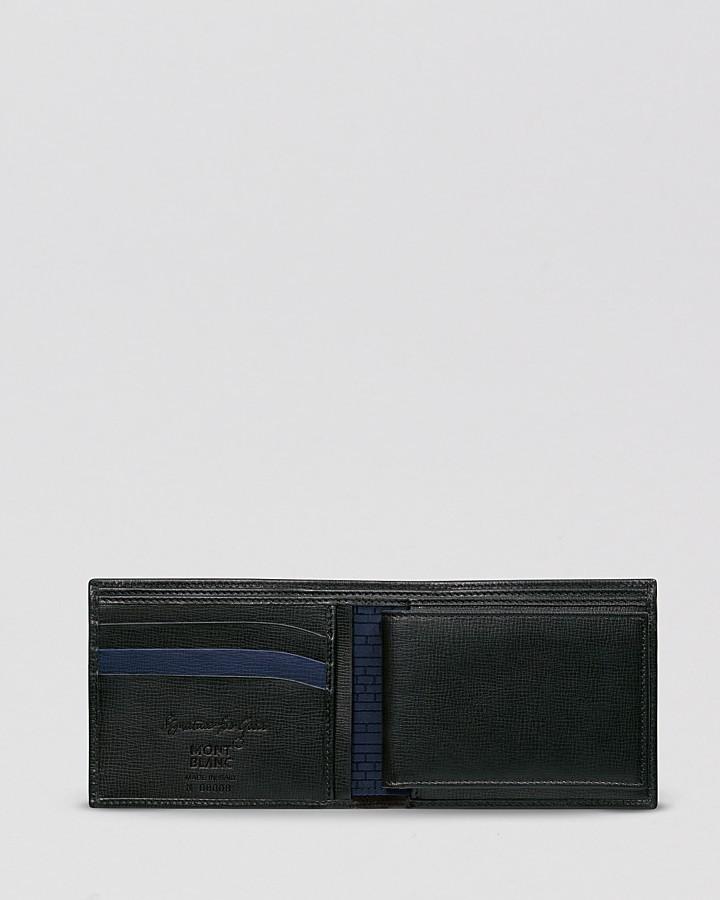 Montblanc Signature For Good Full-Grain Leather Bi-Fold Wallet