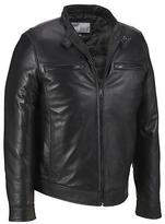 Wilsons Leather Mens Lamb Moto Jacket