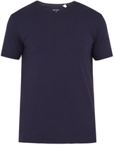 Paul Smith Crew-neck cotton-jersey pyjama top