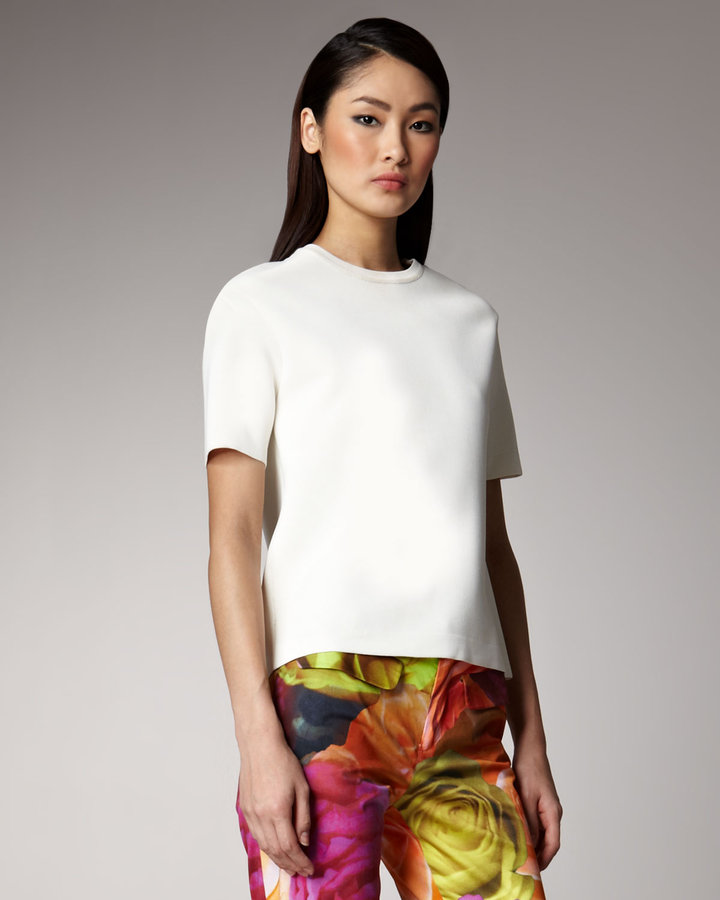 Peter Som Boxy Knit Top