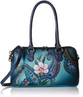 ANNA by Anuschka Anuschka Anna by Handpainted Leather Large Multi Comparment Satchel