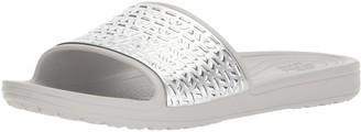 Crocs Women's Sloane Graphic Etched Slide W Sandal