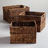 Cost Plus World Market Madras Rectangular Baskets