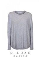 DECJUBA Luxe Drop Shoulder Wool Knit